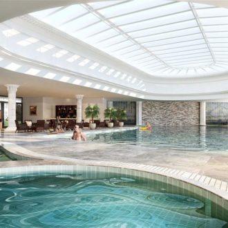 Bể bơi chung cư Hateco Apollo