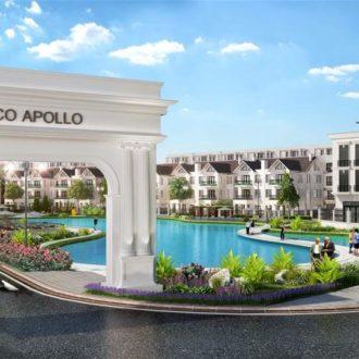 Cổng vào chung cư Hateco Apollo